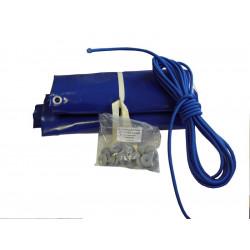 Bâche plate 122x200 Bleue pour Q340-SL