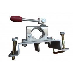 Support roue jockey diam.48 en fonte avec platine
