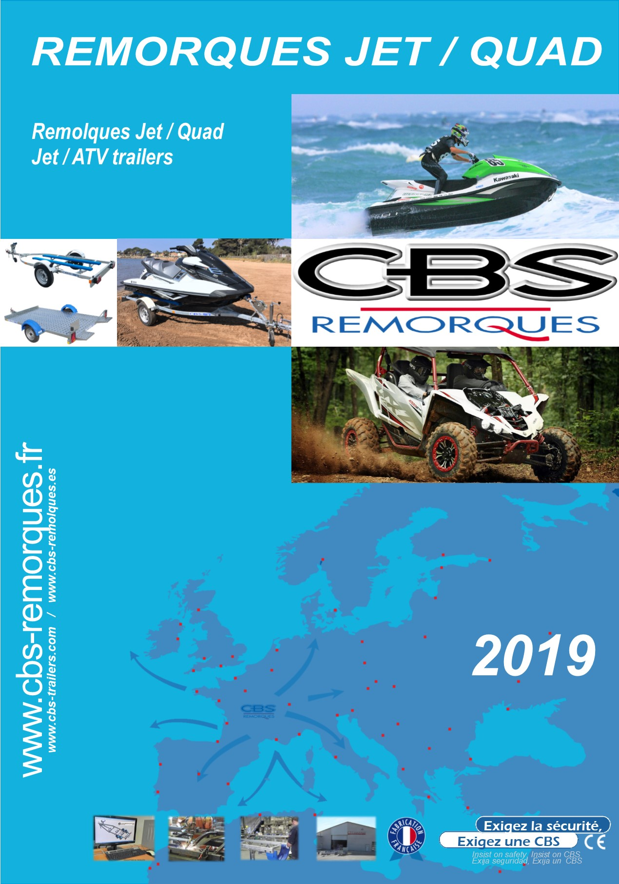 catalogues remorques jet-ski et quads