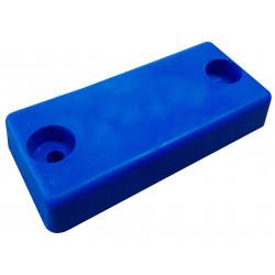 Patin PM 142 x 66 mm en bleu