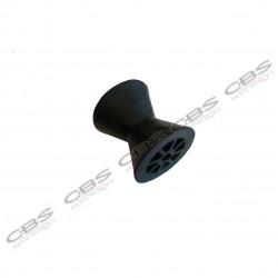 Bobine de treuil GM longueur 91 mm Alésage diamètre 14 mm noire