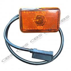 Feu side marker orange + câble
