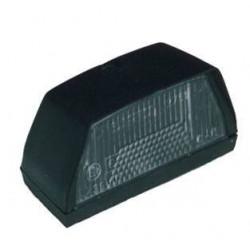 Eclaireur de plaque noir